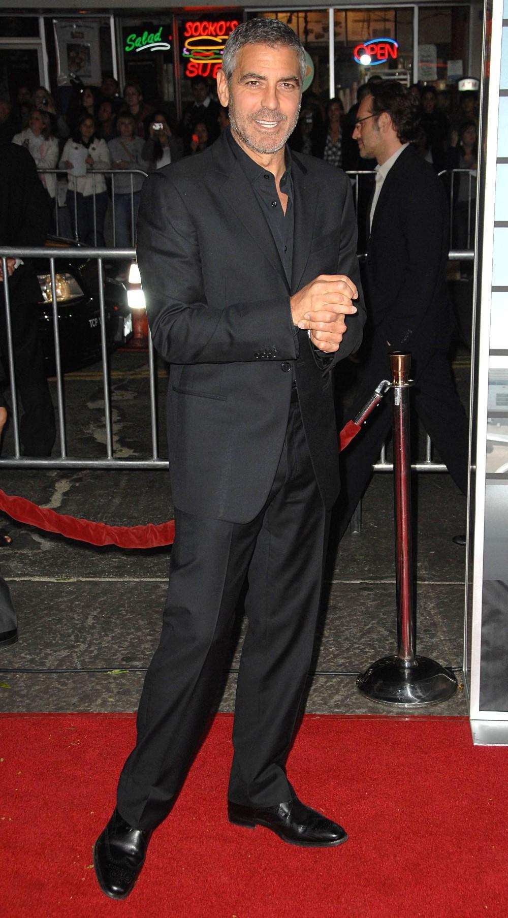 George Clooney's Red Carpet Style | Fandango