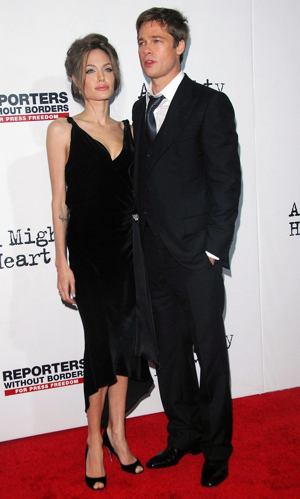 bdb48cb7aa16 Style Icons  Brad Pitt and Angelina Jolie