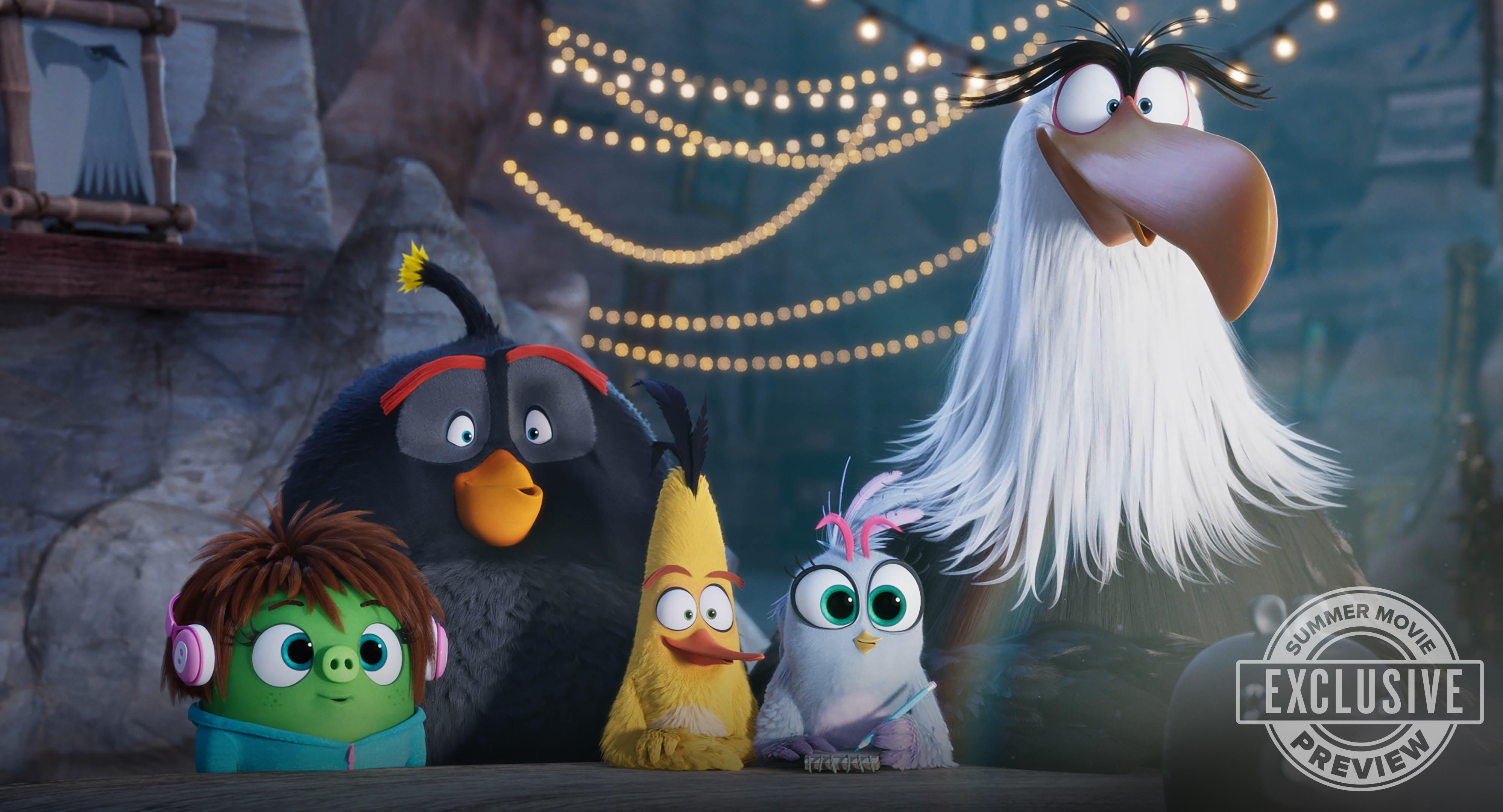 THE ANGRY BIRDS MOVIE 2 (AUGUST 16)