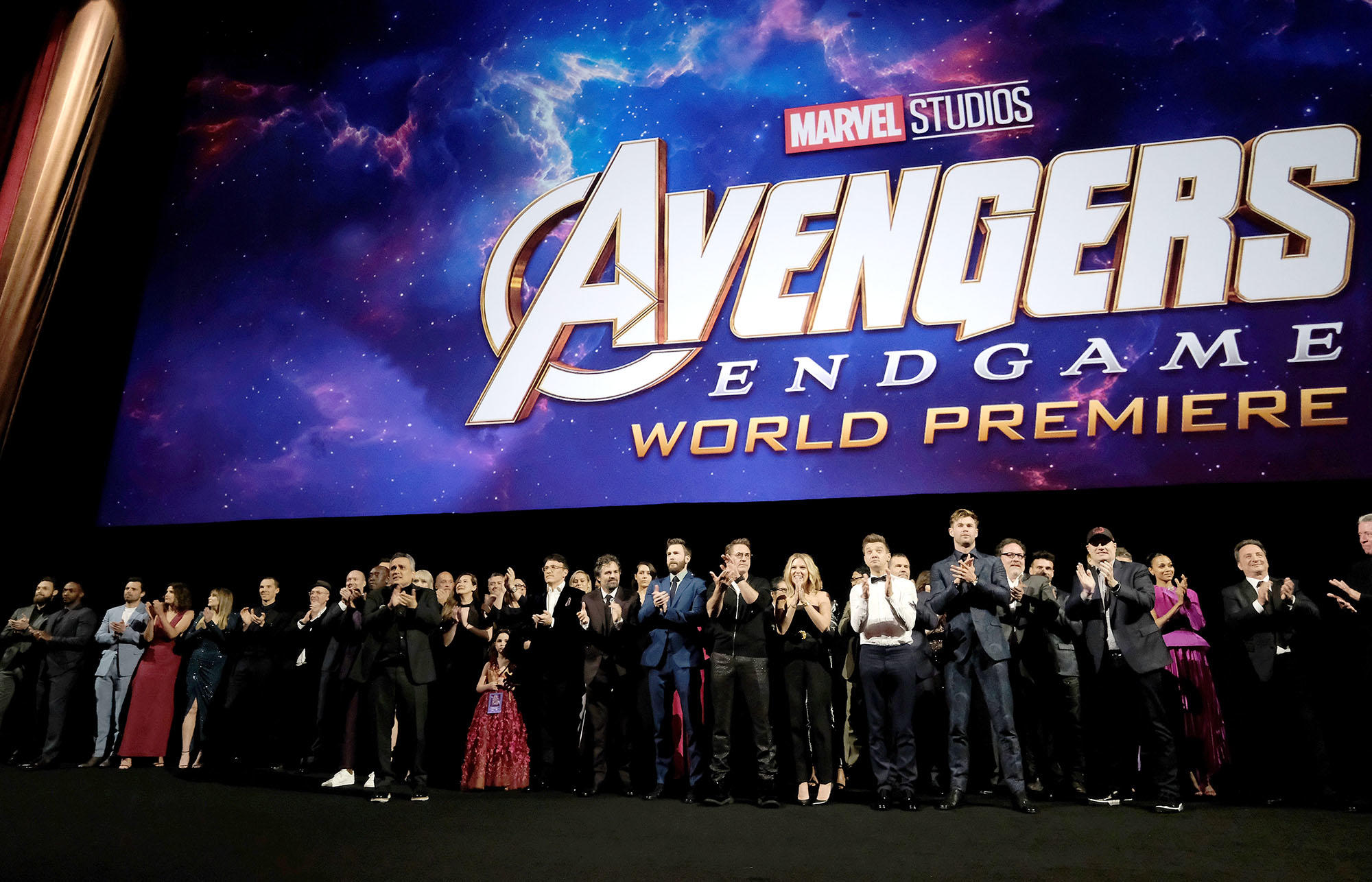 'Avengers: Endgame' cast and crew