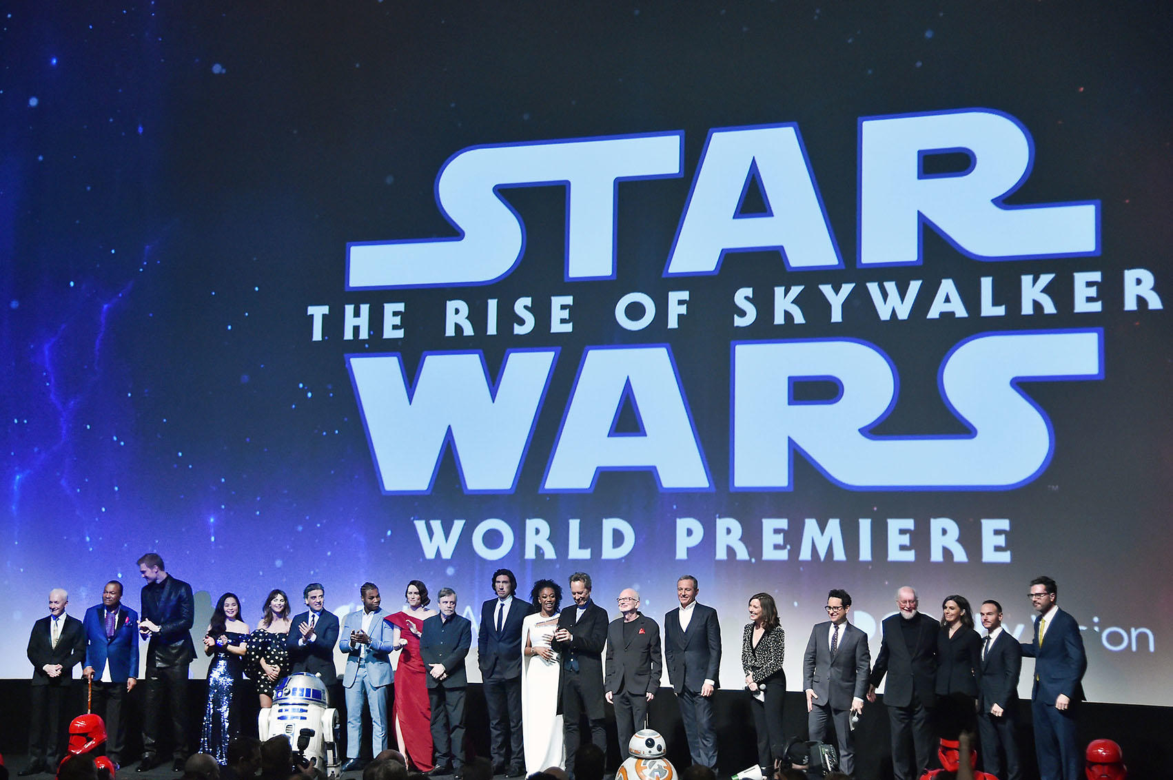 Star Wars The Rise Of Skywalker Premiere Fandango