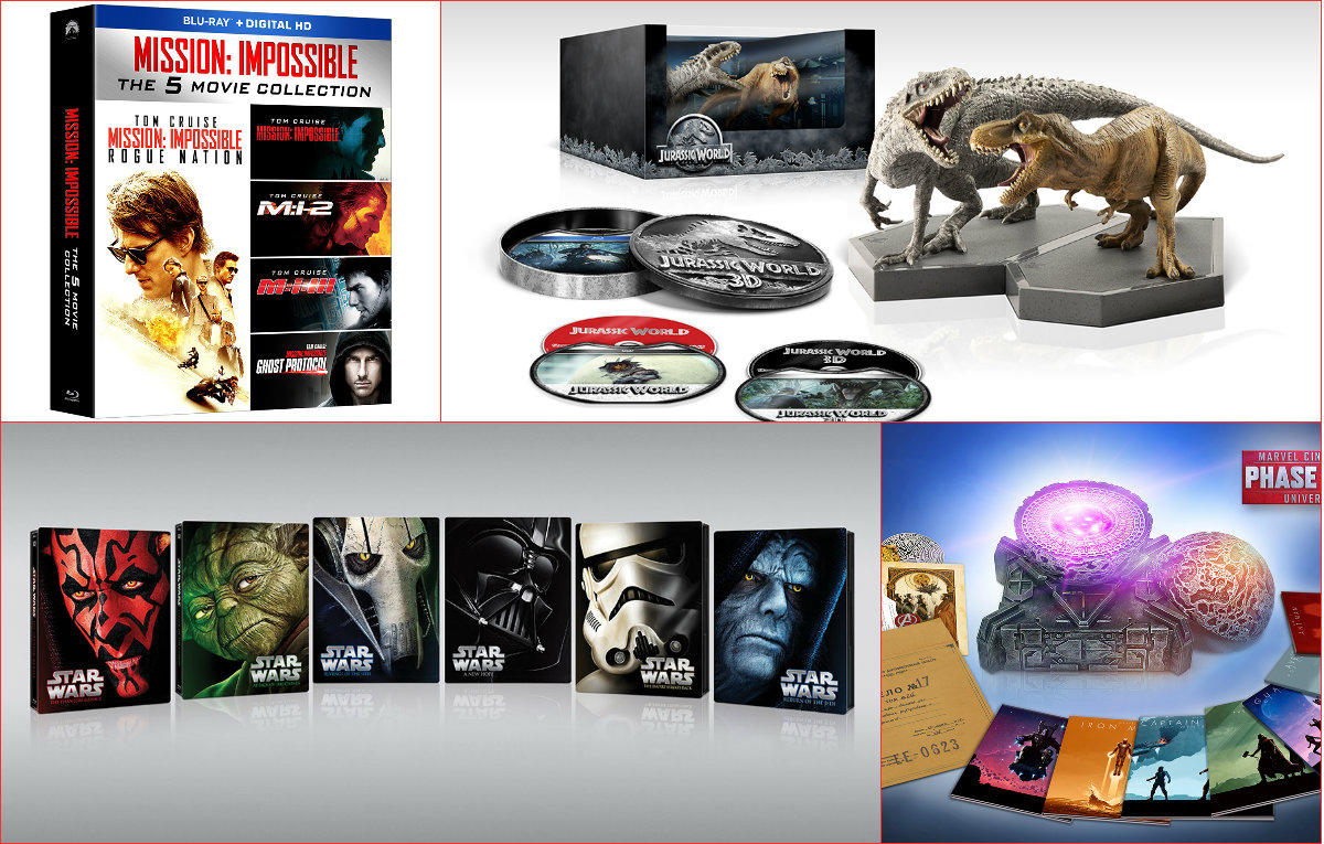 At Home for the Holidays: 2015 DVD/BD Gift Set Buyers' Guide