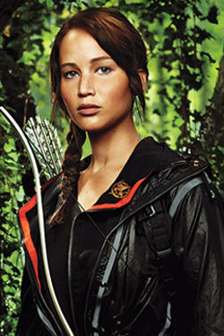 who are the main characters in the hunger games