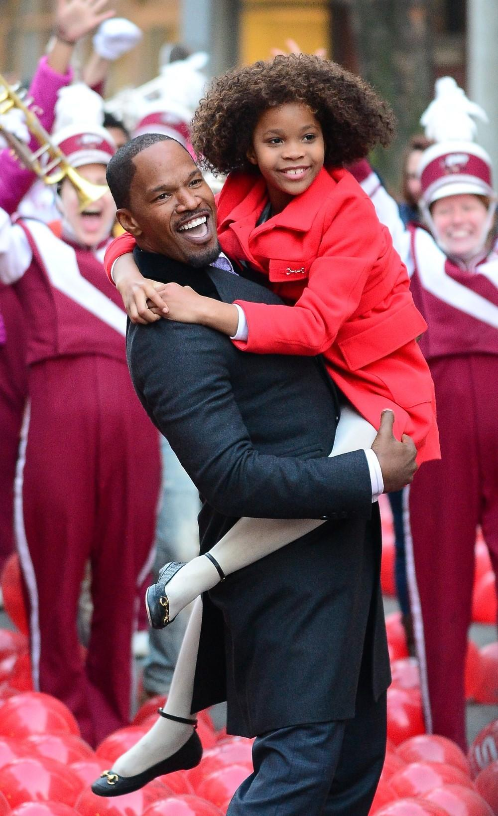 Jamie Foxx and Quvenzhane Wallis