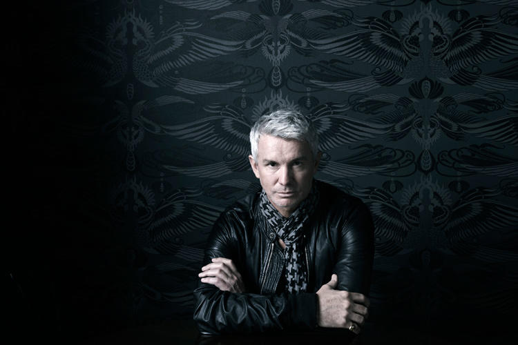 Director Baz Luhrmann on the set of