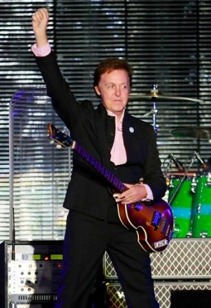 Paul McCartney at the
