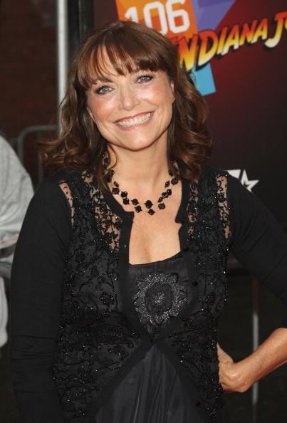 Karen Allen at the N.Y. premiere of