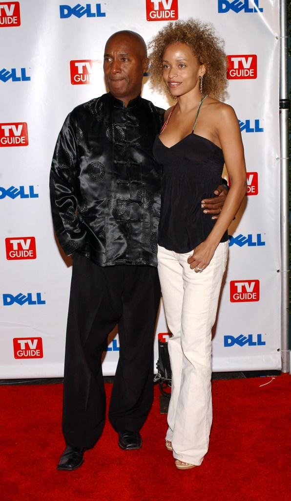 Paul Mooney and Stacie J at the TV Guide's Second Annual Emmy After Party.