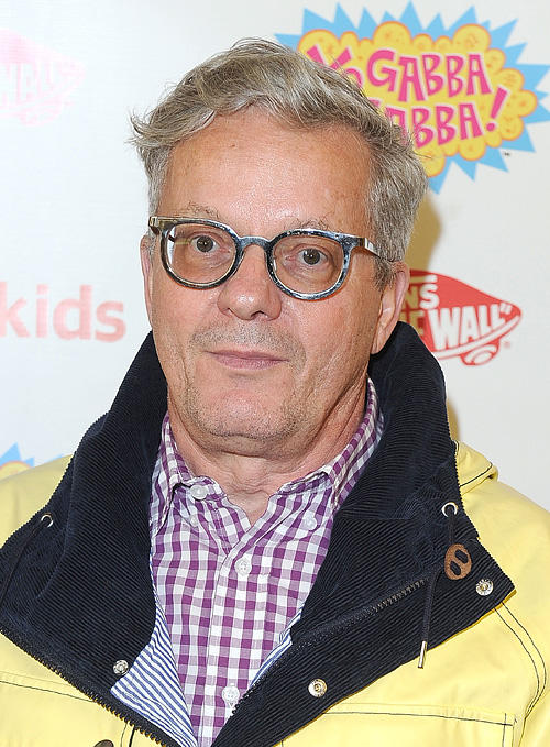 Mark Mothersbaugh at the Vans x Yo Gabba Gabba! shoe launch in California.