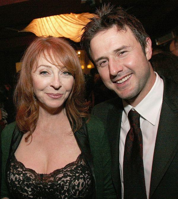Cassandra Peterson and David Arquette at the after party of the premiere screening of