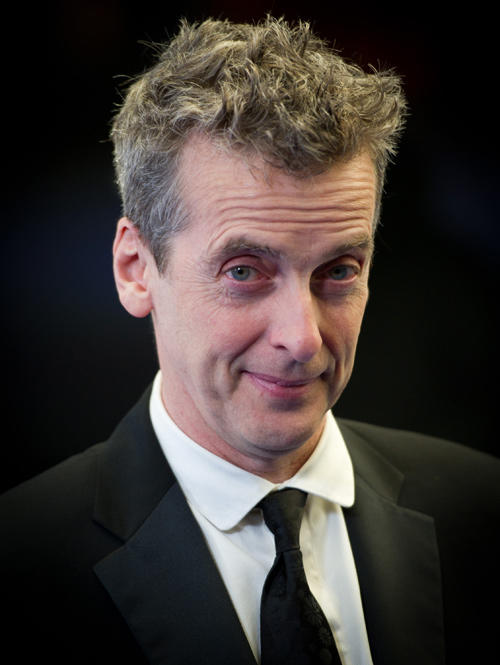 Peter Capaldi at the British Comedy Awards in England.