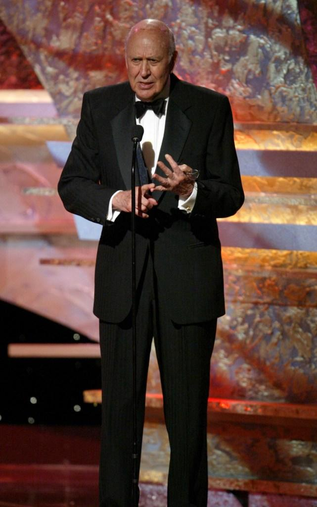 Carl Reiner at the 19th American Cinematheque Awards to Honor Steve Martin.