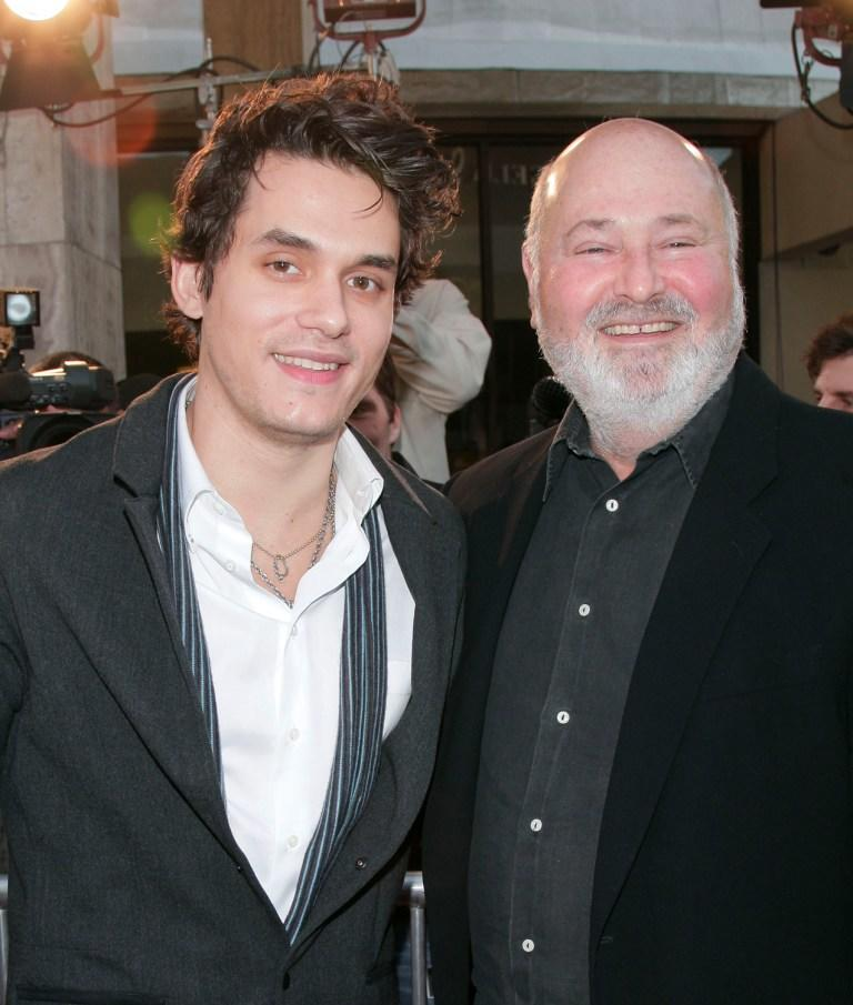 Rob Reiner and John Mayer at the Los Angeles film premiere of