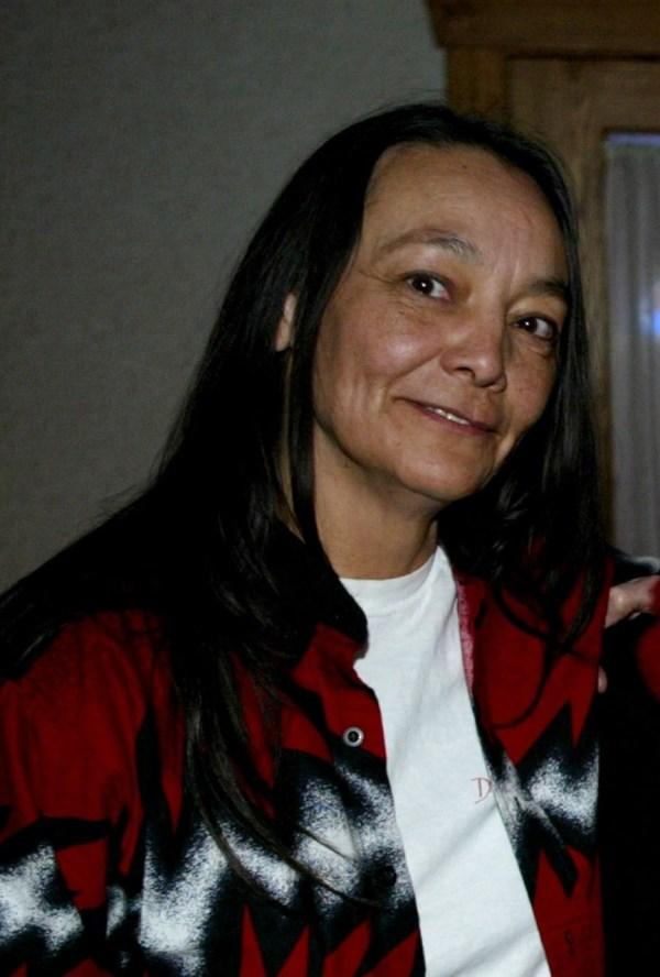 Tantoo Cardinal at the premiere of