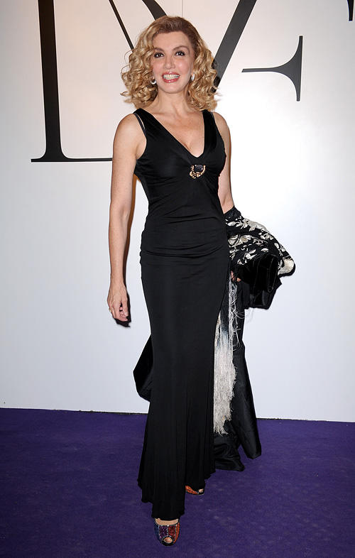 Milly Carlucci at the Glamour Party during the Milan Fashion Week Womenswear Spring/Summer 2011.