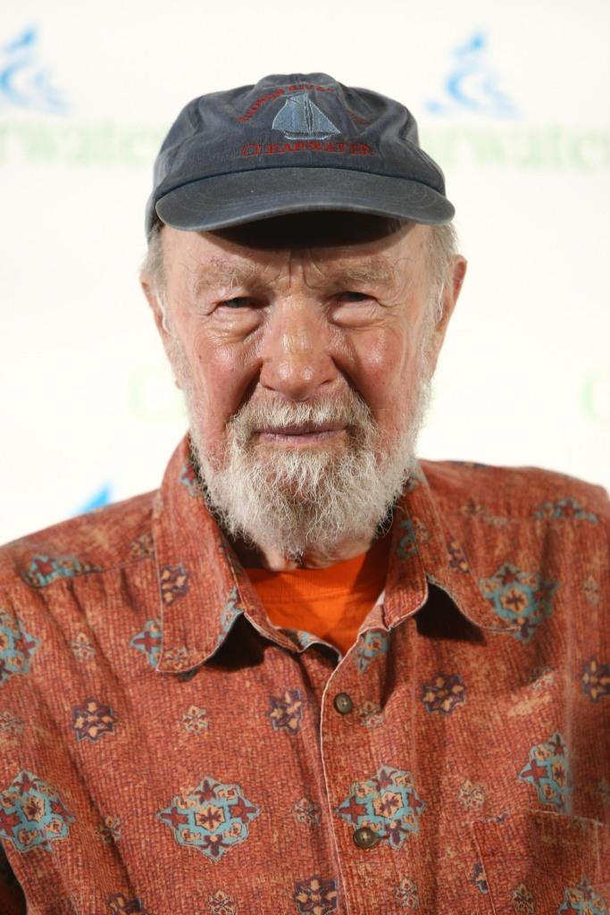 Pete Seeger at the Clearwater Benefit Concert celebrating Pete Seeger's 90th Birthday.
