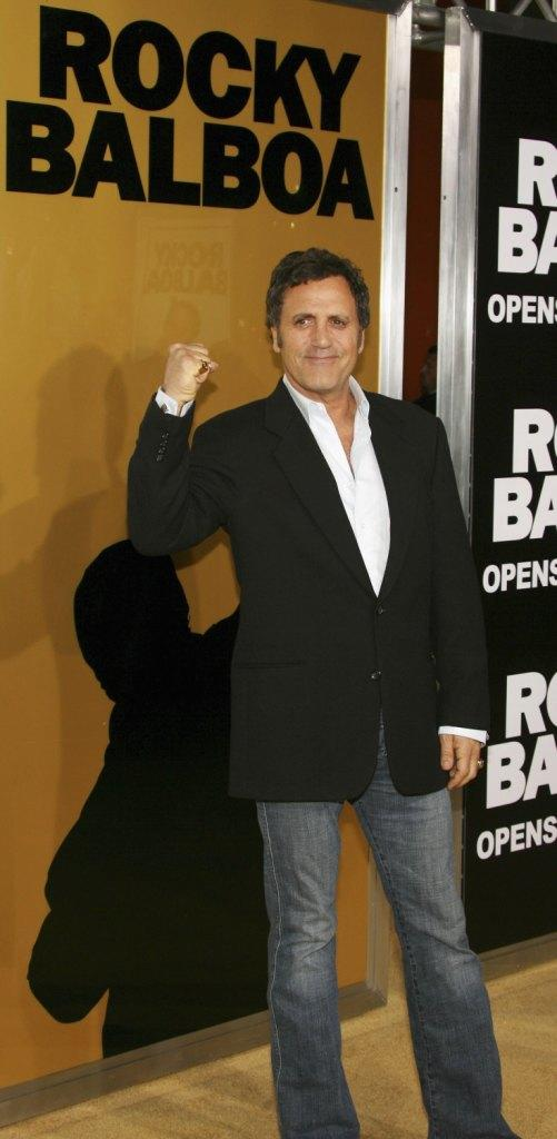 Frank Stallone at the world premiere of