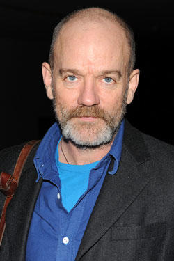 Michael Stipe attends the opening night reception for 'William Kentridge: Five Themes' and 'Projects 92: Yin Xiuzhen' at The Museum of Modern Art on February 23, 2010 in New York City.
