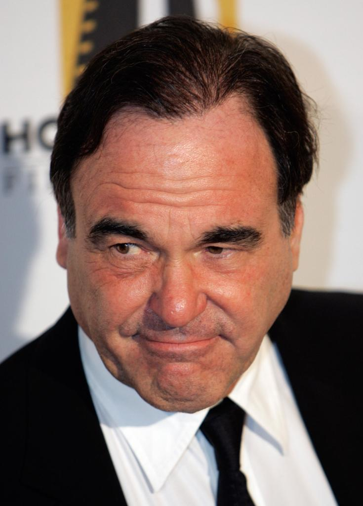Oliver Stone at the red carpet of the Hollywood Film Festival 10th Annual Hollywood Awards.