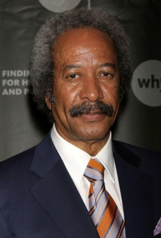 Allen Toussaint at the World Hunger Year's event honoring Elvis Costello and John Edwards.