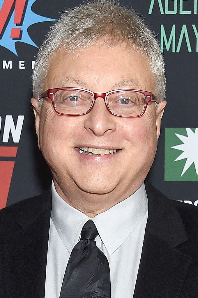 Michael E. Uslan at the Stan Lee celebration in Hollywood.