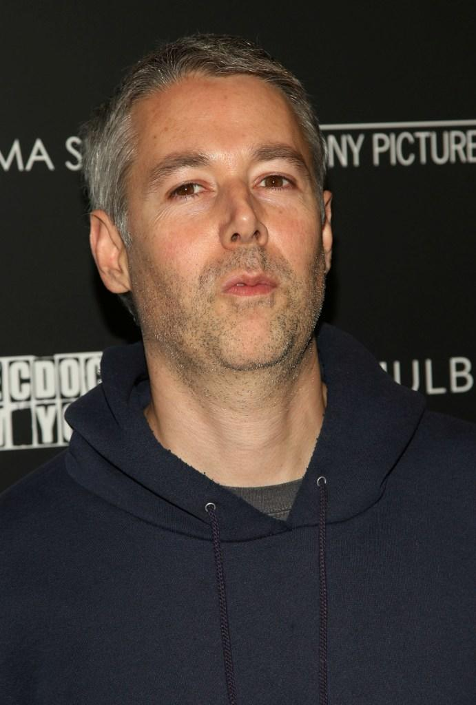Adam Yauch at the screening of