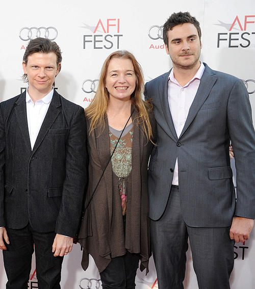 Producer Dustin Bowlin, Karen Young and producer Andrew Renzi at the AFI FEST 2010 in California.