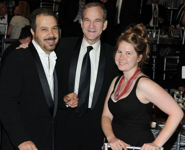 Edward Zwick, Marshall Herskovitz and Lizzie Herskovitz at the 38th AFI Life Achievement Awards.