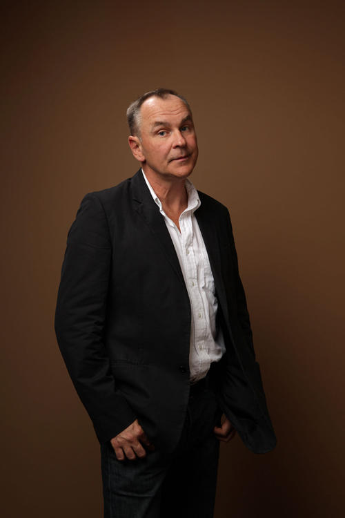 Daniel MacIvor at the portrait session of