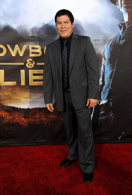 Julio Cedillo at the California premiere of