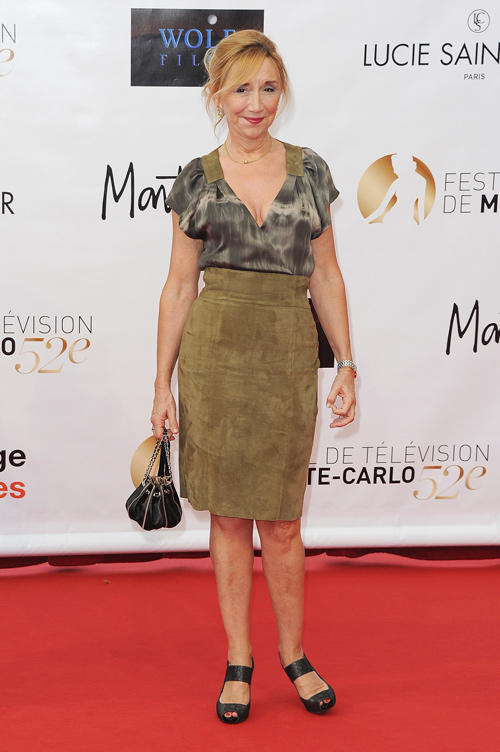 Marie-Anne Chazel at the opening ceremony of 2012 Monte Carlo Television Festival.