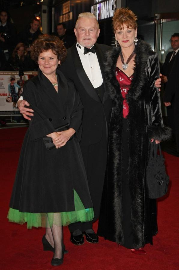 Imelda Staunton, Derek Jacobi and Samantha Bond at the Cinema and Television Benevolent Fund Royal Film Performance 2008 and world premiere of