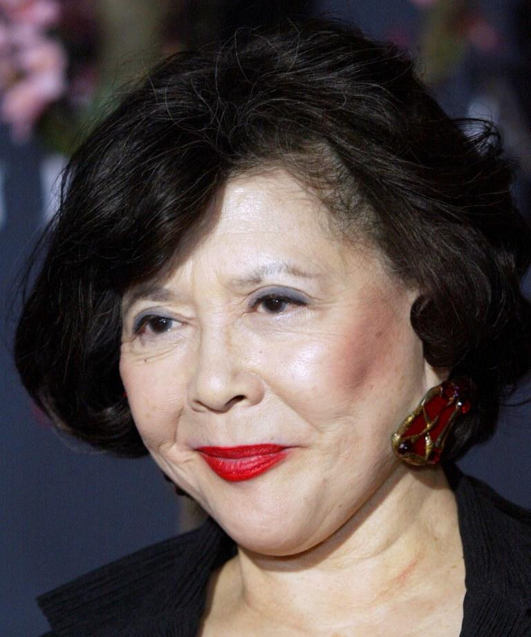 Tsai Chin at the Hollywood premiere of