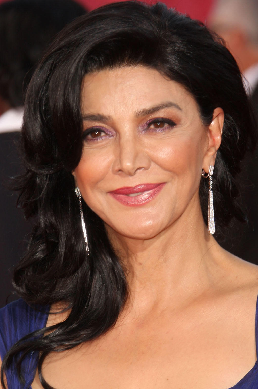 Shohreh Aghdashloo at the 61st Primetime Emmy Awards in Los Angeles.