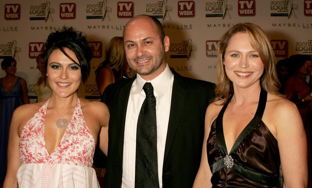 Natalie Saleeba, Steve Bastoni and Mouche Phillips at the 2007 TV Week Logie Awards.