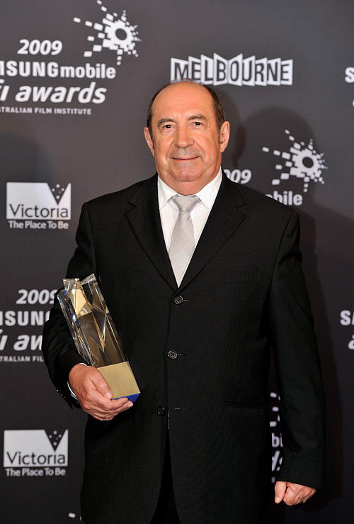 Roy Billing at the 2009 Samsung Mobile AFI Awards in Australia.
