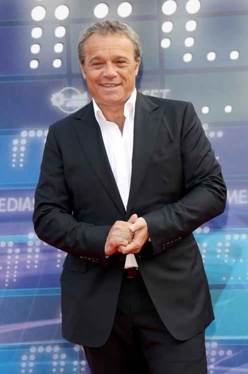 Claudio Amendola at the Mediaset Night TV Programming Presentation.