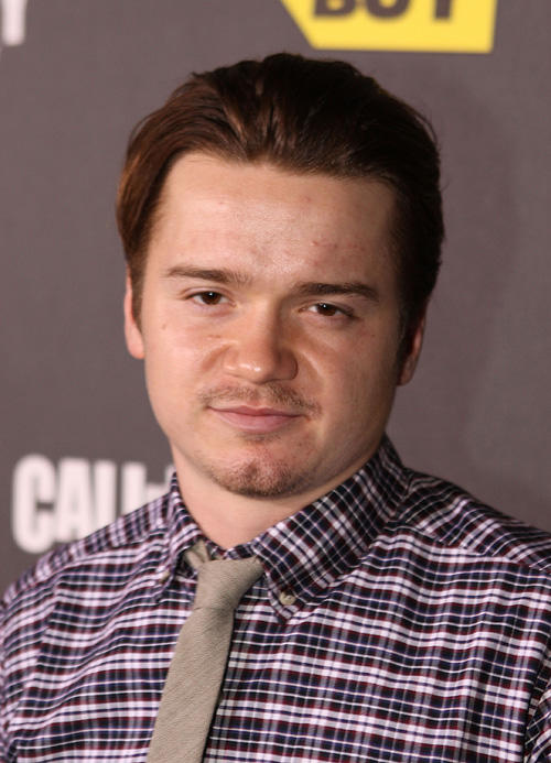 Dan Byrd at the Call Of Duty: Black Ops Launch party in California.