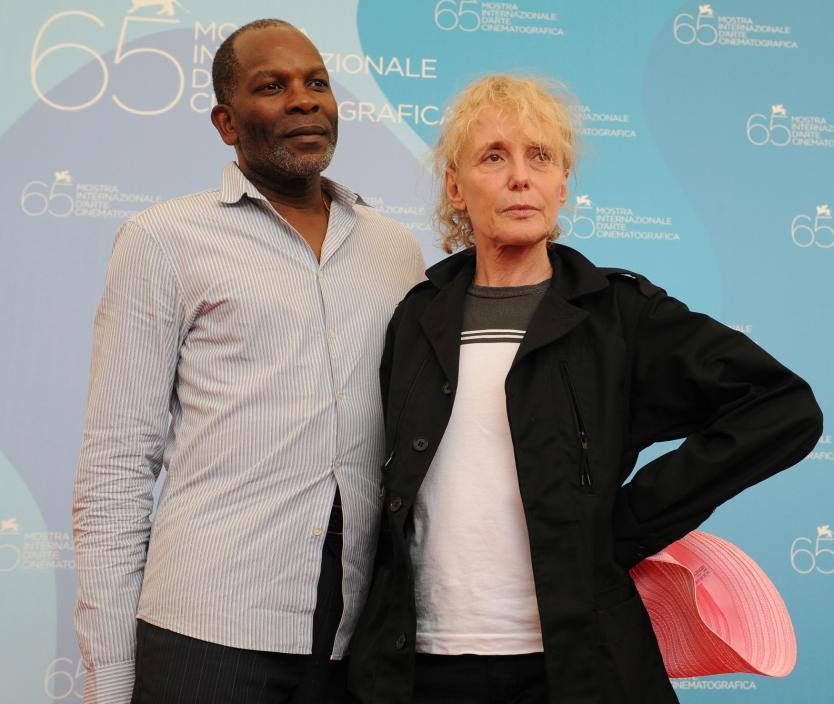 Alex Descas and Claire Denis at the photocall of