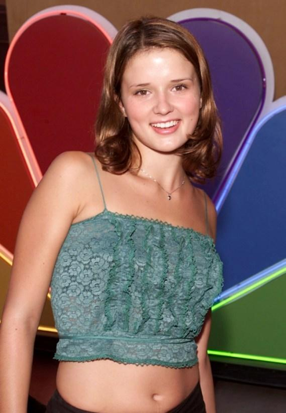 Katherine Ellis at the NBC's party held for the Television Critics Association.