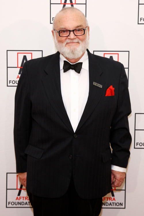J.R. Horne at the AFTRA Foundation's 2012 AFTRA Media and Entertainment Excellence Awards in New York.