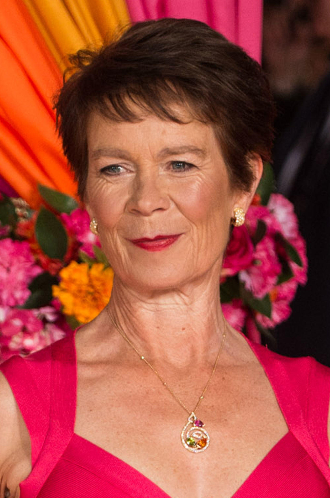 Celia Imrie at the London premiere of