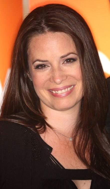 Holly Marie Combs at the Disney and ABC Television Group Summer press junket.