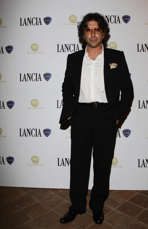 Luca Lionello at the cocktail party hosted by the Lancia Cafe during the 57th Taormina Film Fest.