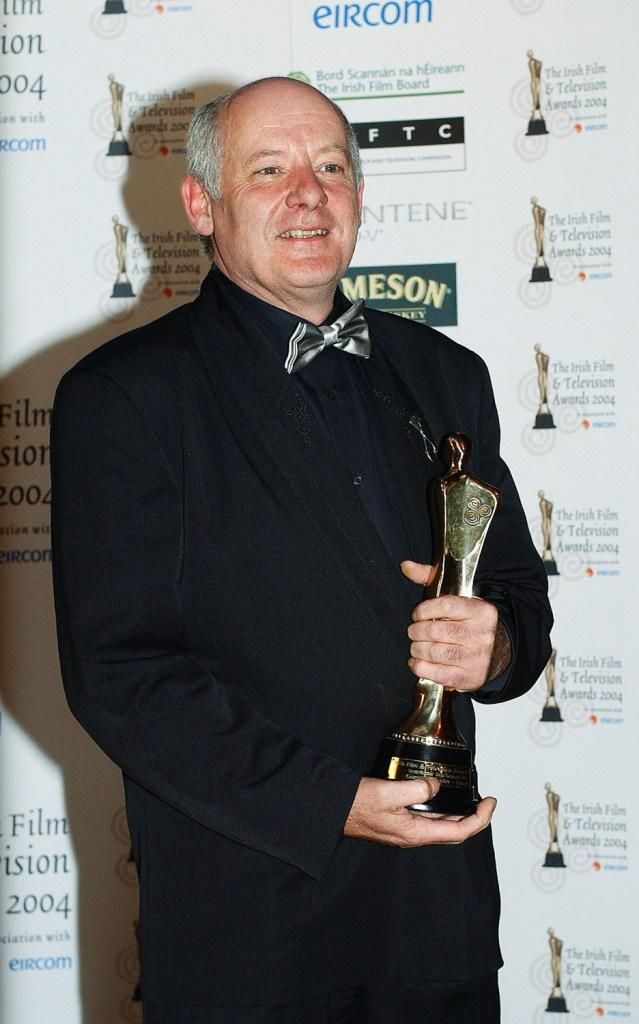 Gerard McSorley at the Irish Film and Televison Awards.