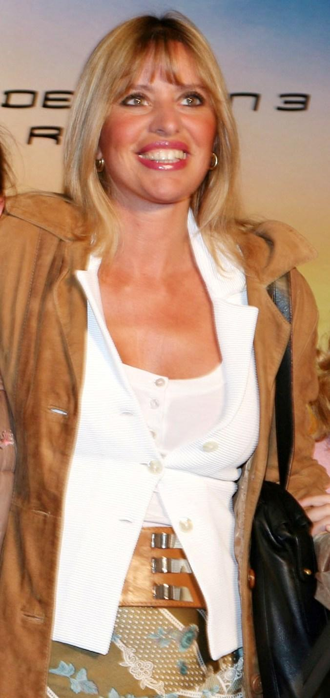 Alessandra Mussolini at the Italian premiere of