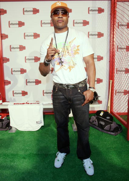 LL Cool J at the Vitaminwater's MLB All-Star week celebration.