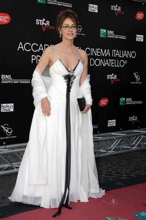 Elena Sofia Ricci at the David di Donatello Movie Awards.