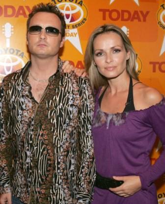 Jim Corr and Sharon Corr at the 2004 Toyota Concert Series.