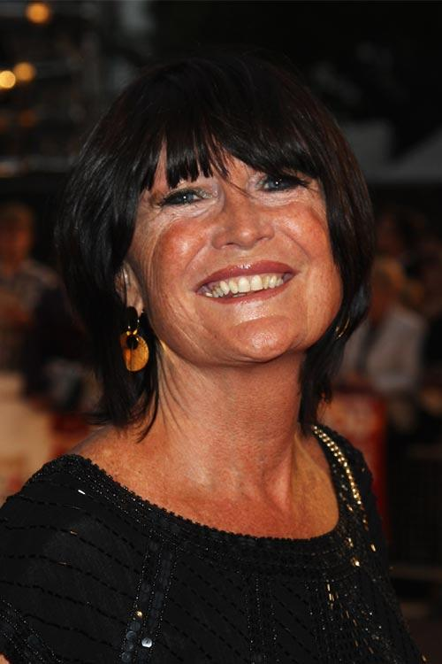 Sandie Shaw at the world premiere of